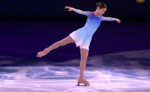 "WATCH: Yuna Kim Skates to ""Imagine"" for Olympic Gala"