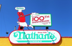 Nathan's Famous Celebrates 100 Years in Coney Island