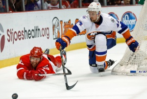 Red Wings Destroy Islanders 5-1