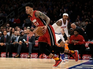 Gerald Green Scores 25, Leads Heat to 97-78 Rout of Knicks