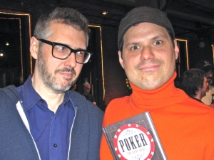 Michael Ian Black and Ira Glass Play Poker for Charity