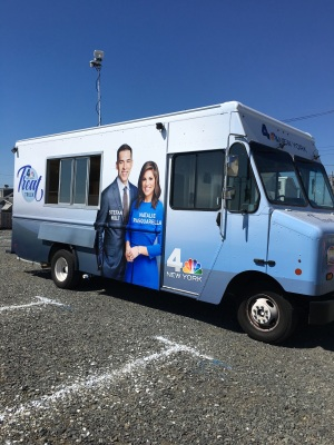 NBC 4 Treat Truck Beats the Heat in NJ