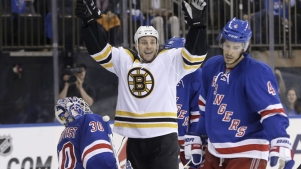 Rangers on Brink of Elimination With 2-1 Loss to Bruins