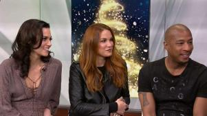 'The Christmas Contract' with Danneel Ackles, Hilarie Burton & Antwon Tanner