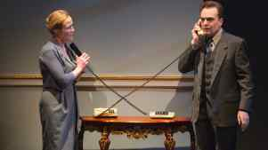 Review: Smart Political Thriller 'Oslo,' at Lincoln Center
