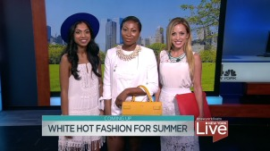 Summer White Fashion