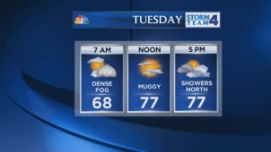 Janice Huff's late evening forecast for Monday, May 20.