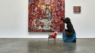 An Art Exhibit Designed Just for Dogs is Opening in NYC