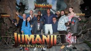 Top Celebrity Photos: 'Jumanji' Photo Call, Kanye West, More