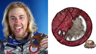 The Taste of Victory: U.S. Snowboarder Gets Bacon Medal
