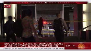 [NY] NYPD Gives All-Clear on Fulton Street Devices