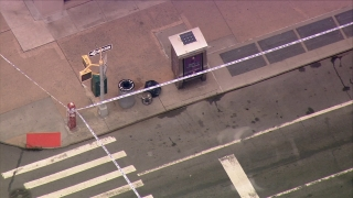 [NY] Chopper 4 Shows 3rd Device Next to Trash Can in Chelsea