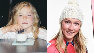 Mikaela Shiffrin's Childhood Photos
