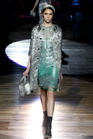 Trend Watch: Shimmering Metallic Looks for Spring