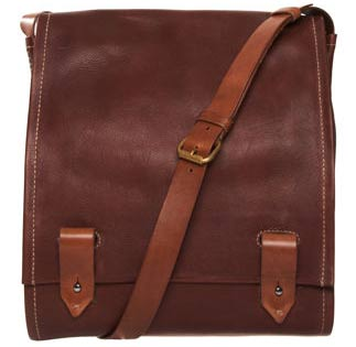 The Henry Cuir Barricade Satchel