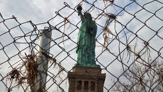 PHOTOS: 1st Look at Sandy Damage on Liberty Island