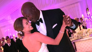 Celebrity Hookups: Michael Jordan's Wedding