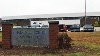 Sandy Hook Students See New School