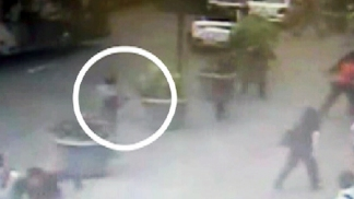 VIDEO: Empire State Gunman Shot by Cops