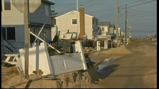 Barrier Island Storm Victims Head Home