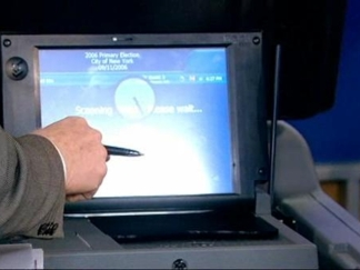 First Look at NY's New Electronic Voting Machines