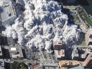 Newly Released NYPD Aerial Photos of 9/11