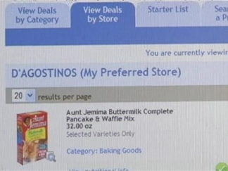 New Website Searches for Coupons at Your Local Supermarket