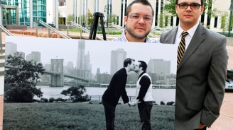 NJ Gay Couple: Misused Pic Makes Us Cringe
