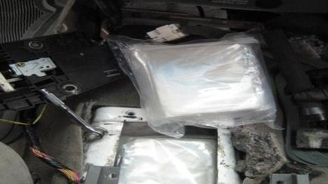 Cocaine-Stuffed Suitcase Bound for NY Seized