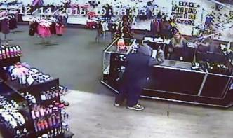 Watch: Workers Throw Sex Toys to Chase Off Gunman