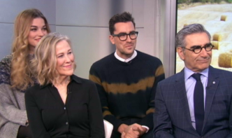 """Chatting with the Stars of """"Sch**t's Creek"""""""