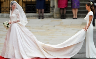 Alexander McQueen Team Thought Royal Wedding Dress Was For a Movie
