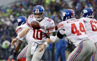 Giants Fall to Marshawn Lynch, Seahawks 38-17