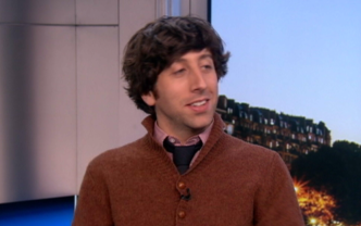"Simon Helberg on ""We'll Never Have Paris"" & ""Big Bang"""