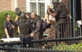 Police Arrest Man who Allegedly Stabbed Wife after Standoff