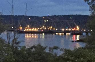 Railroad Bridge Struck by Boat Causes Amtrak Delays