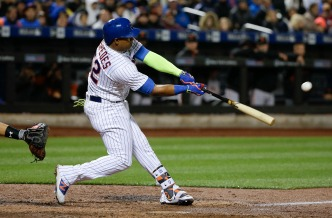 Mets Set Record 12-Run Inning, Beating Giants 13-1