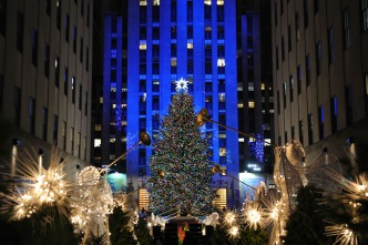 Tis the Season: Watch the Rockefeller Center Christmas Tree Live!