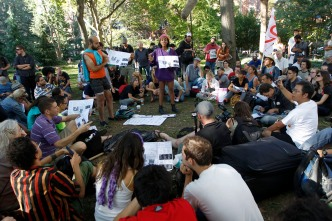 Over a Dozen Arrested at Occupy 1-Year March