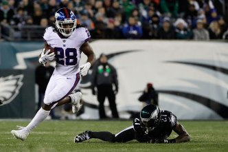 Giants' Line and Running Game Under Microscope Friday
