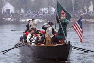 Boat-Savvy Kids Keep Revolutionary War Reenactment Afloat