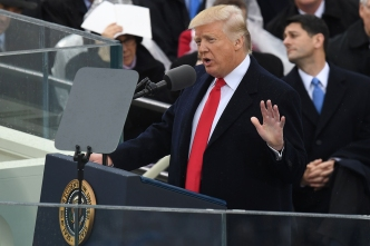 Full Transcript of President Trump's Inaugural Address