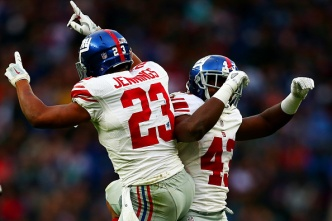 Giants Best Rams 17-10 in London