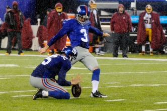 Giants Kicker Suspended for Opener Due to Conduct Violation
