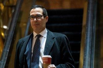 Trump Picks Mnuchin, Ross for Treasury, Commerce