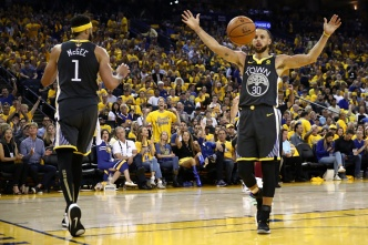 Warriors Take a 2-0 Lead Over Cavaliers in NBA Final