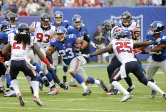 Giants' Run Game Will Be Central to Team's Fortunes