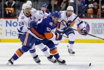 Islanders Fall to Lightning in OT 5-4