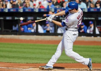Conforto, Flores Power Mets Past Giants 6-5