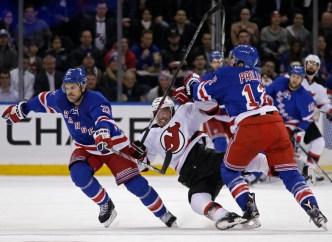 Rangers Beat Devils 2-1